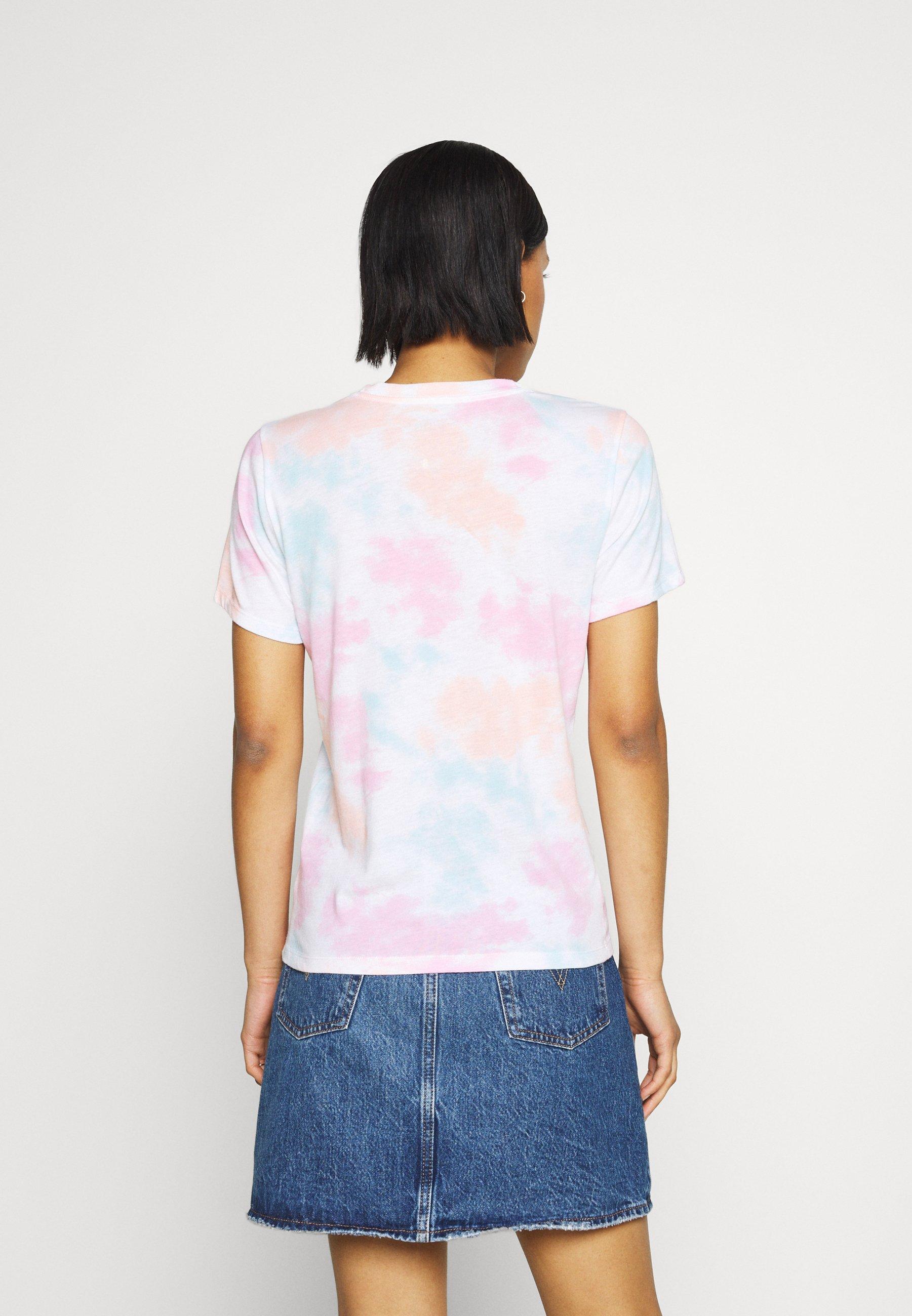 Damen TECH CORE UPDATES - T-Shirt print