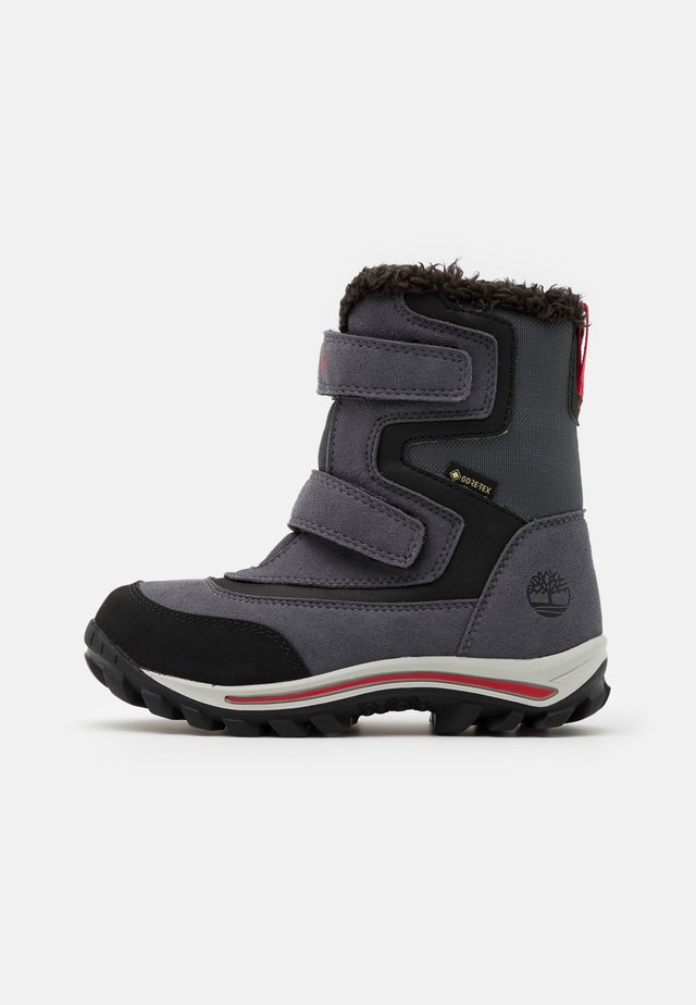 CHILLBERG - Snowboot/Winterstiefel - mid grey/red