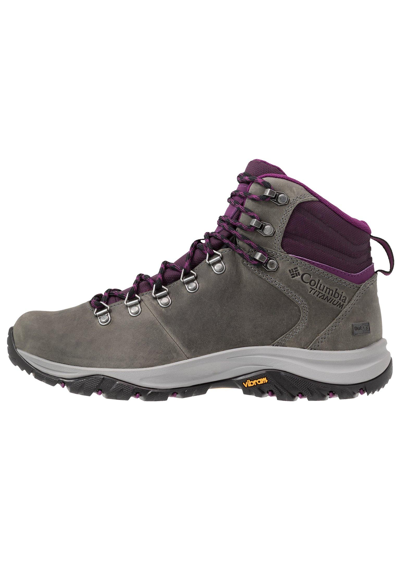 Women 100MW TITANIUM OUTDRY - Hiking shoes