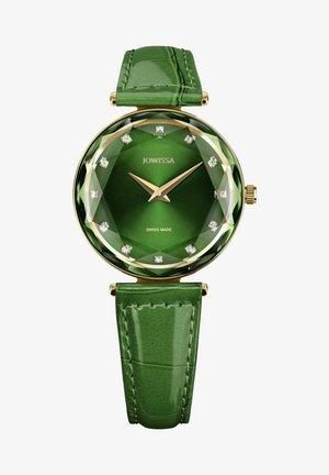 Horloge - grün/gold