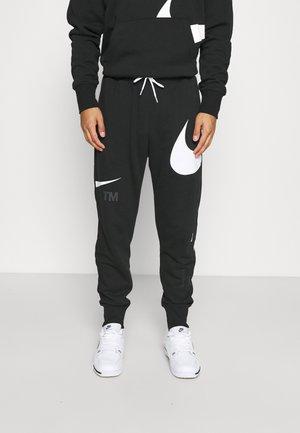 PANT - Träningsbyxor - black/white