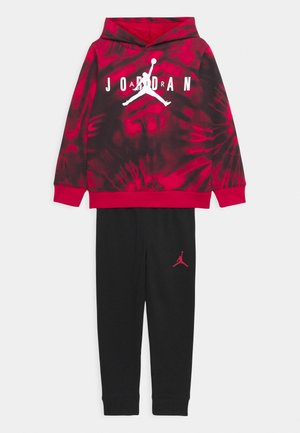 AIR JORDAN SET UNISEX - Tracksuit - black
