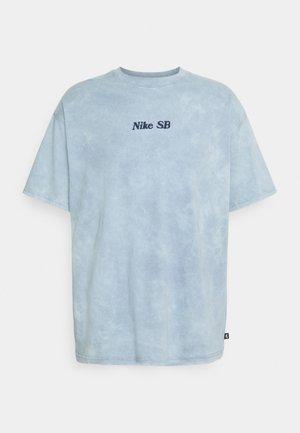 TEE CLASSIC WASH UNISEX - Print T-shirt - ashen slate