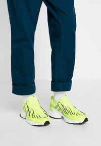 adidas Originals - EQT GAZELLE - Matalavartiset tennarit - solar yellow/silver metallic/core black - 0