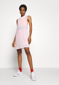 adidas Originals - DRESS - Jersey dress - white - 1
