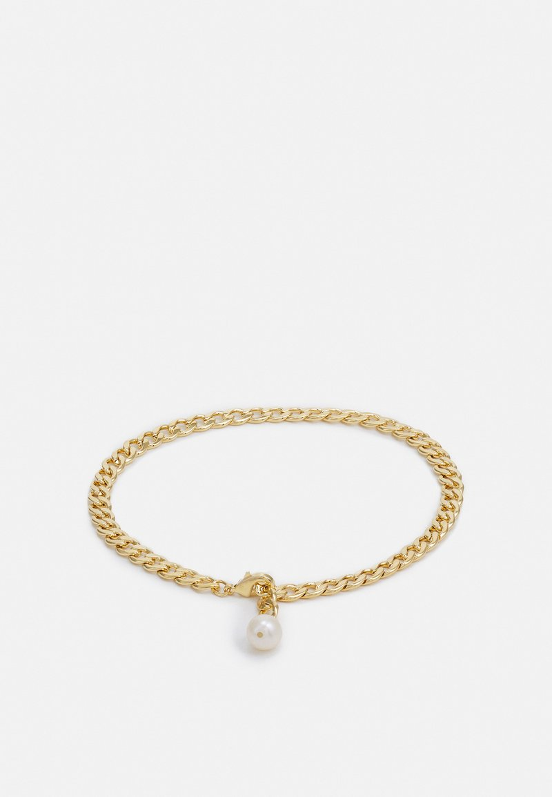Orelia - FLAT CURB LINK DROP ANKLET - Other accessories - gold-coloured