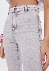 Bershka - Jegging - grey - 3
