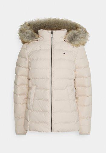 BASIC  - Down jacket - smooth stone
