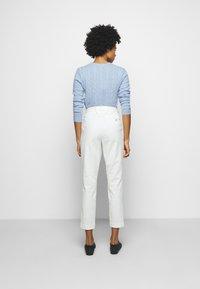 Polo Ralph Lauren - SLIM LEG PANT - Pantalones - warm white - 2