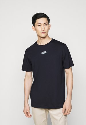 DURNED - Print T-shirt - dark blue