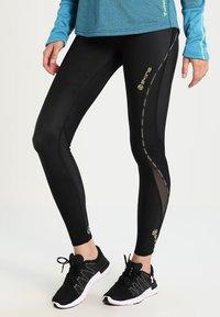 Skins - DNAMIC LONG - Leggings - black - 0