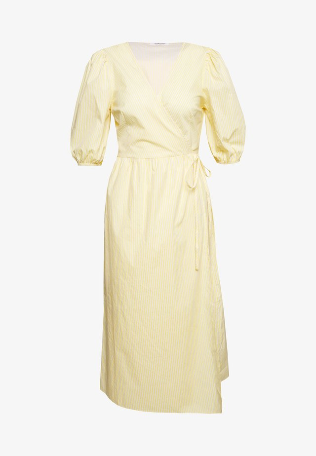 WRAP DRESS - Day dress - yellow