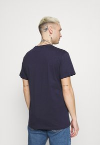 G-Star - ORIGINALS STRIPE LOGO - T-shirt con stampa - sartho blue - 2