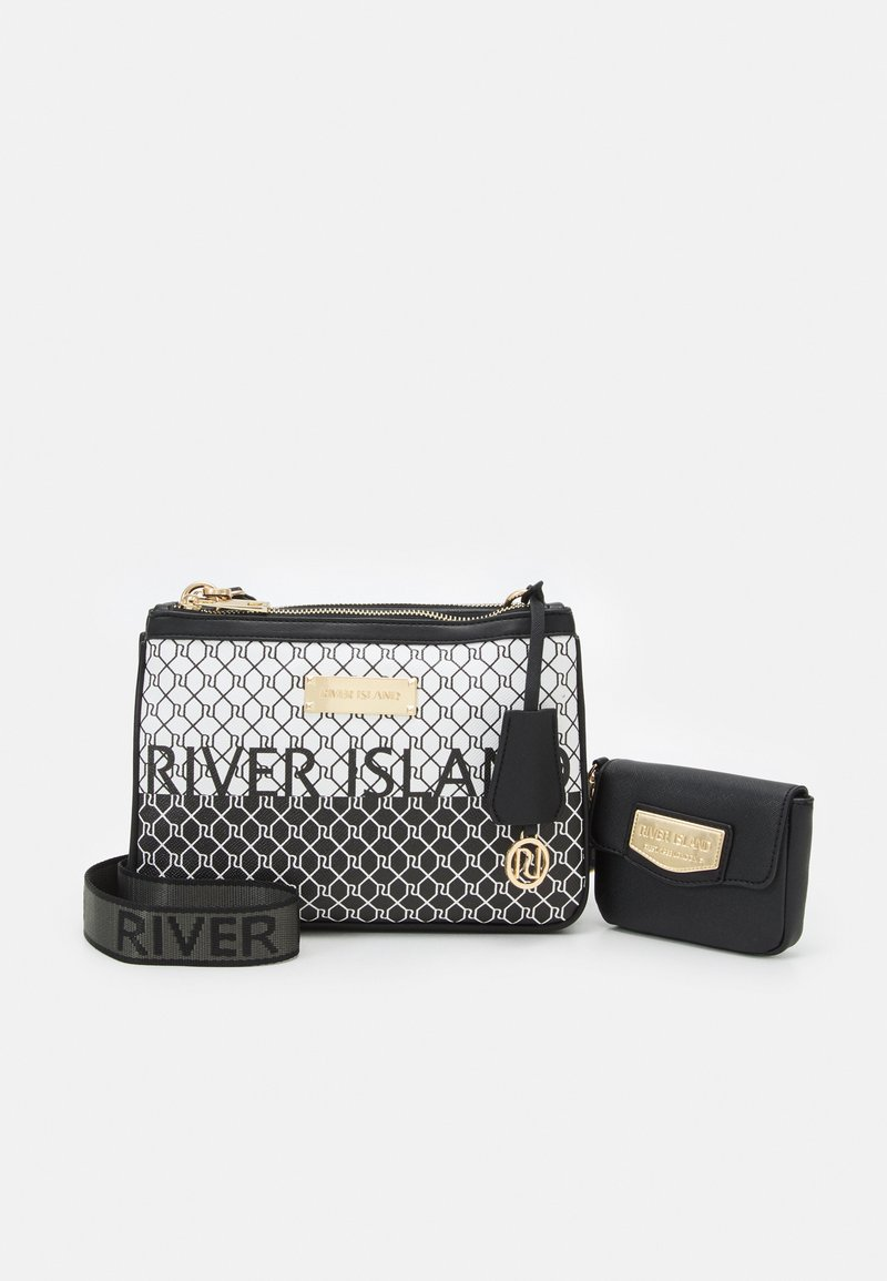 River Island - SET - Across body bag - black