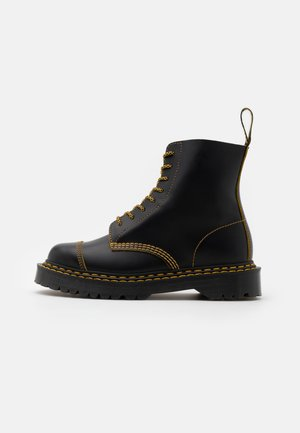 1460 PASCAL UNISEX  - Veterboots - black/yellow