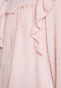 Dorothy Perkins Petite - DOBBY RUFFLE  - Blouse - blush - 4
