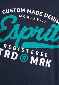 Esprit - T-shirt con stampa - navy - 5