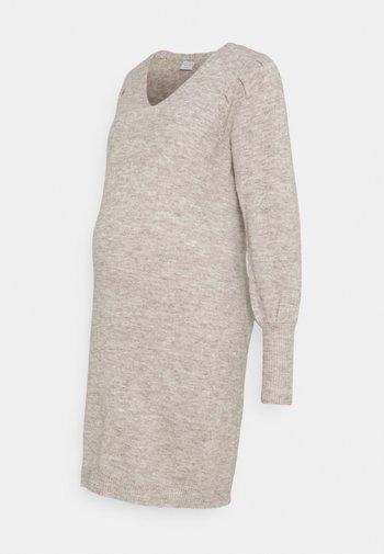 PCMPAM VNECK DRESS