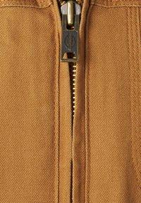 Dickies - DUCK SHERPA JACKET - Light jacket - brown duck - 2
