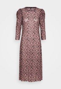 Pieces - PCGWENA MIDI DRESS - Day dress - pink - 4
