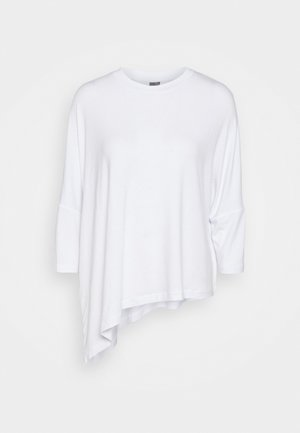 MELLOW - Long sleeved top - white