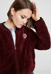 Homeboy - POODLE - Fleece jacket - bordeaux - 3