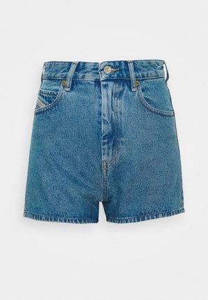 D-ISI-SHORT SHORTS - Denim shorts - indigo