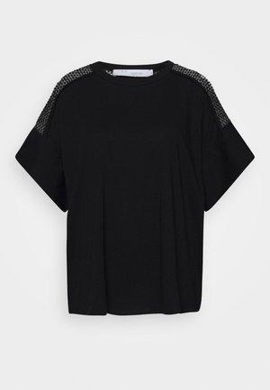 JADYS - Camiseta estampada - black