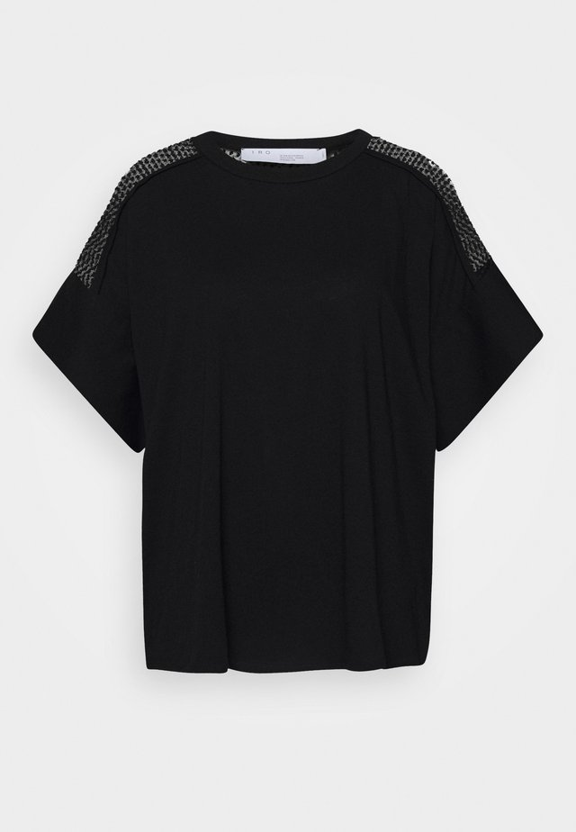 JADYS - T-shirt z nadrukiem - black