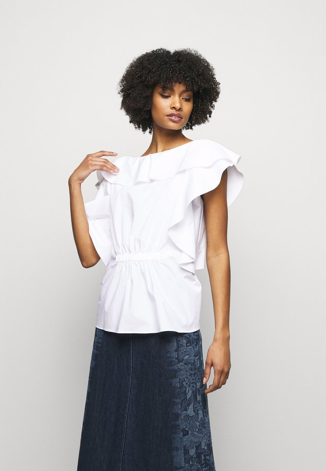 BLOUSE - T-shirt imprimé - white