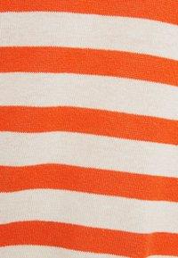 Ecoalf - LEO STRIPE WOMAN - Jumper - beige/red - 2