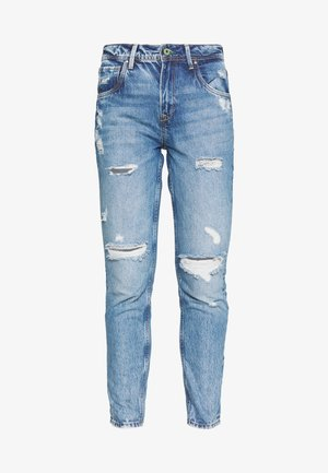 VIOLET - Jeansy Relaxed Fit - destroyed denim