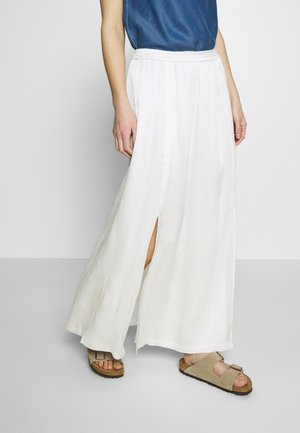 MIJA SKIRT MAXI LENGTH - Maxi skirt - clear white
