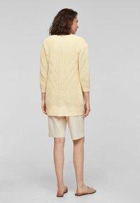 s.Oliver - Cardigan - sunlight yellow - 2