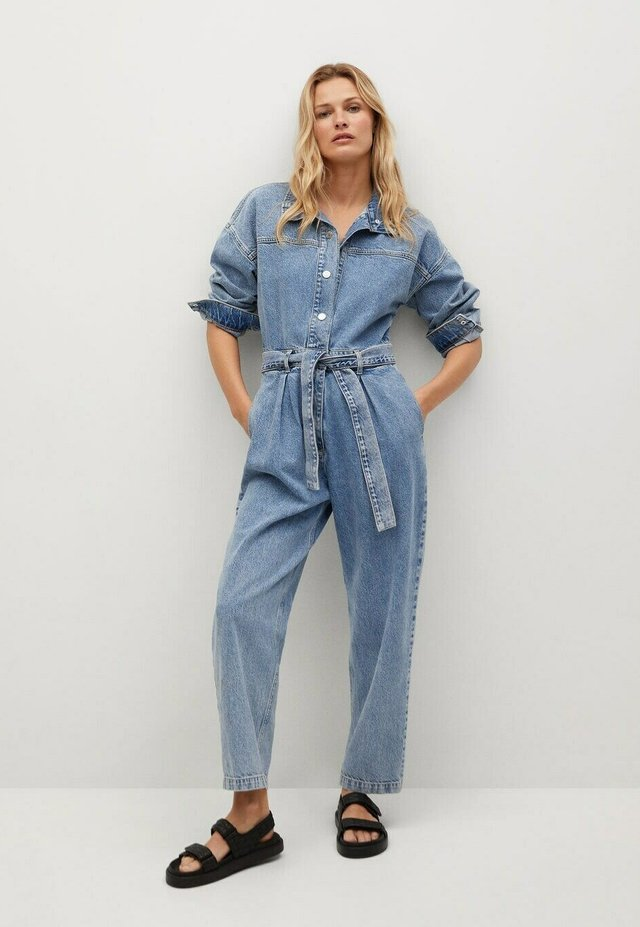 Jumpsuit - medium blue