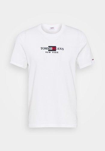 TIMELESS TEE UNISEX - Triko spotiskem - white
