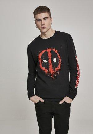 DEADPOOL SPLATTER - Sweatshirt - black