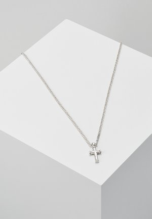 MINI CROSS TO BEAR - Necklace - silver-coloured