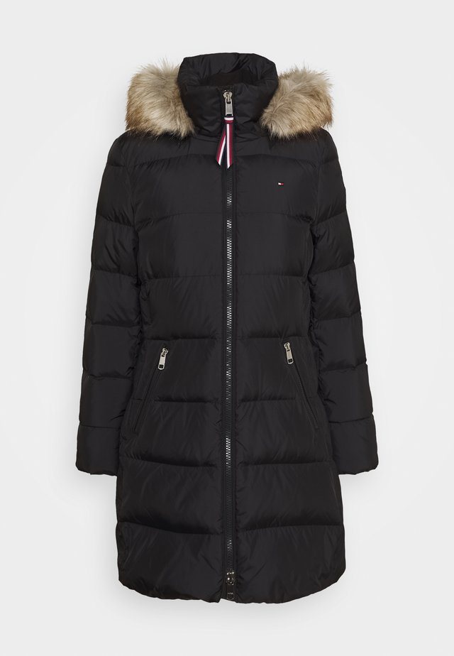 BAFFLE COAT - Down coat - black