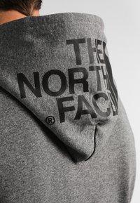 The North Face - SEASONAL DREW PEAK - Bluza z kapturem - medium grey heather - 4