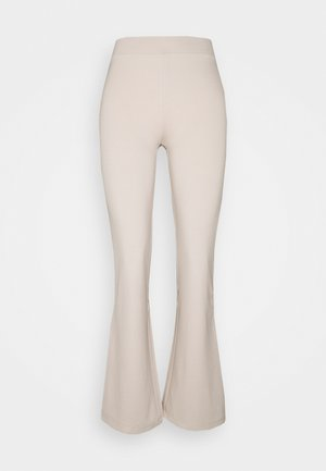 JDYPRETTY FLARE PANT - Trousers - beige