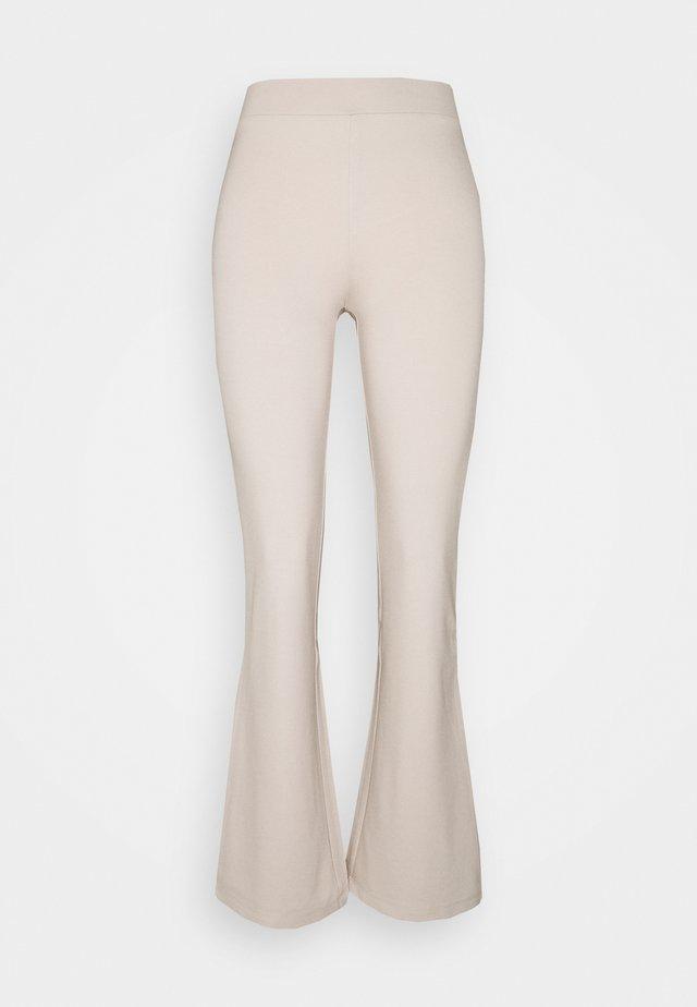 JDYPRETTY FLARE PANT - Kangashousut - beige