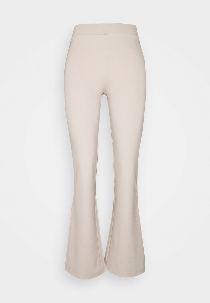 JDY - PRETTY FLARE JRS NOOS - Trousers - beige