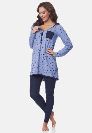 Pyjama - blue-Dots-Navy