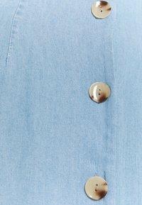 Vero Moda Tall - VMVIVIANA CALF DRESS - Denim dress - light blue denim - 2