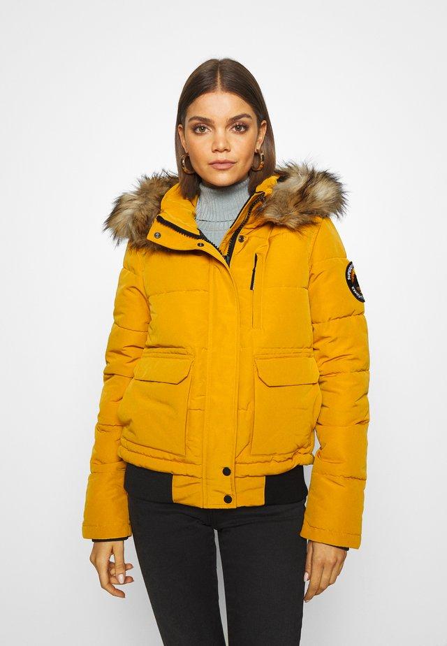 EVEREST - Zimní bunda - ochre