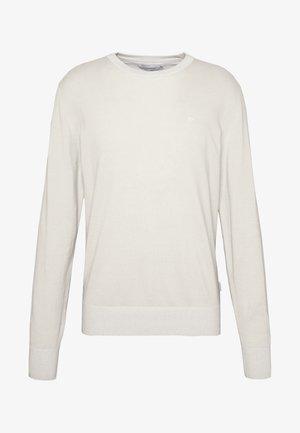 C NECK - Stickad tröja - beige