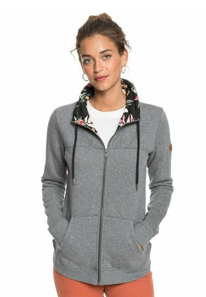 BOAT TRIP - veste en sweat zippée - charcoal heather