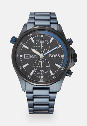 GLOBETROTTER - Chronograph watch - blue