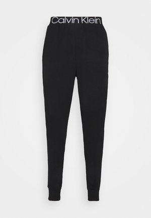 LOUNGE JOGGER - Pyjama bottoms - black